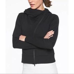 Athleta Malabar Hooded Asymmetrical Jacket Size S